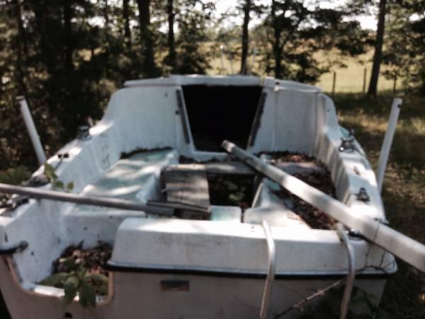 Tow away this sailboat