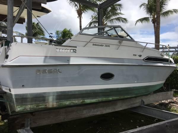 25 Ft Regal Cabin Cruiser Palm Beach Gardens Fl Free