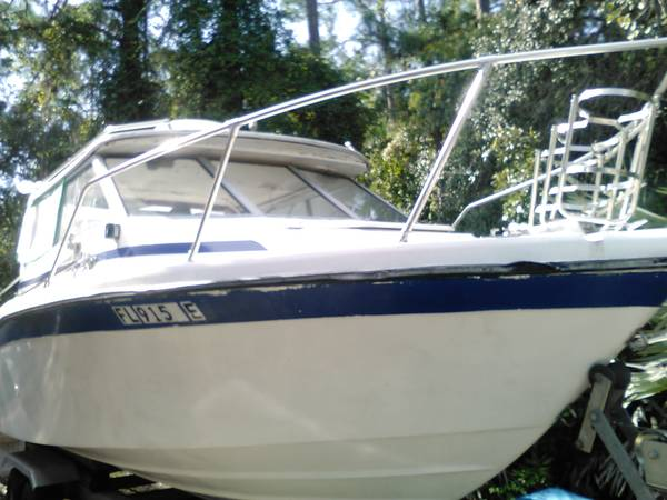 21 foot bayliner powerboat