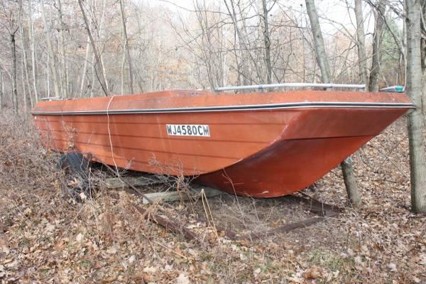 Fiberglass boat shell