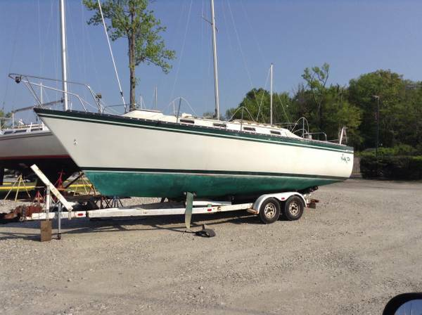 swing keel sailboat for free