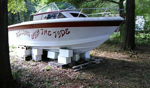 Roll with the tide boat