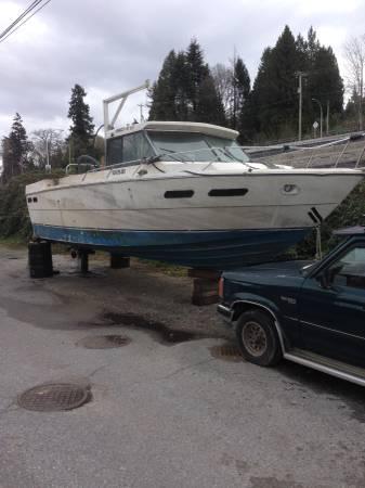 30 foot crab boat