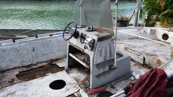Cobia project boat needs refurb