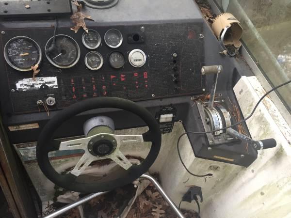 Red Boat Cockpit