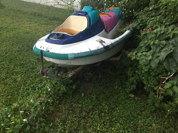 Yamaha Jet Ski and trailer