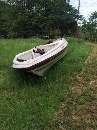 Reinell solid boat hull