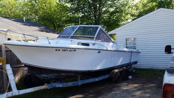 24 foot boat with Ford 302