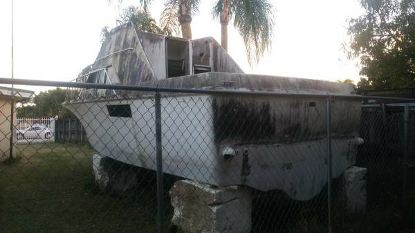 Hatteras boat needs some love