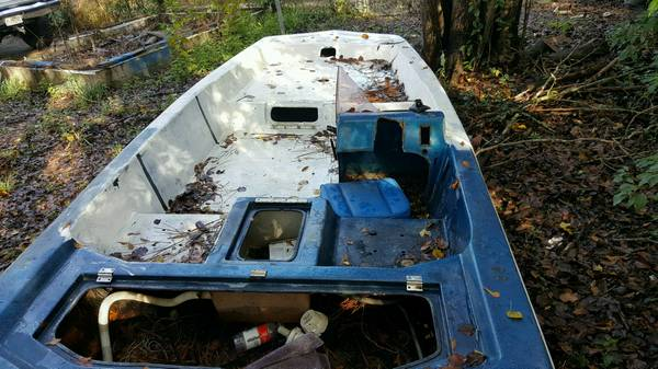 15 foot boat hull