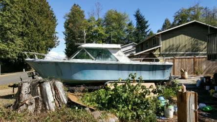 Seabird side view boat