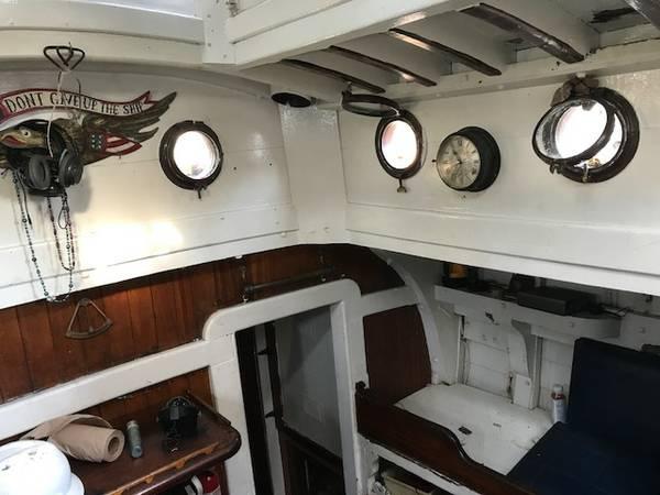 Custom Mini Pirate Ship interior