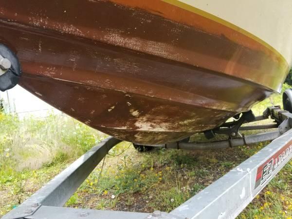 17 Ft Beachcraft hull