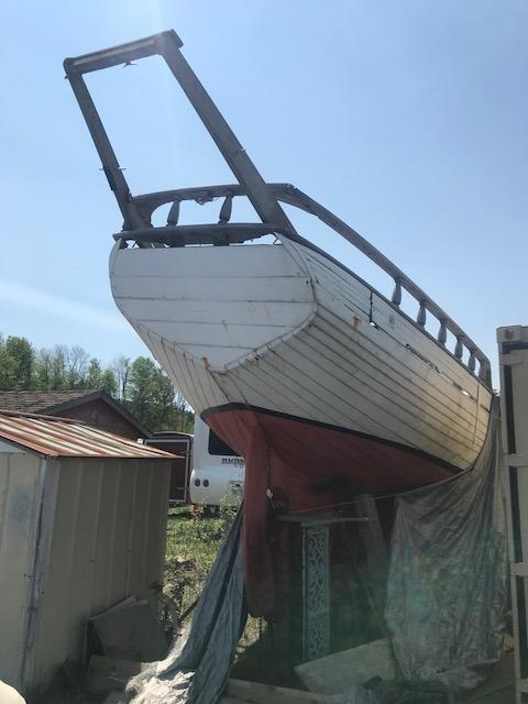 30' Wood Schooner Sailboat