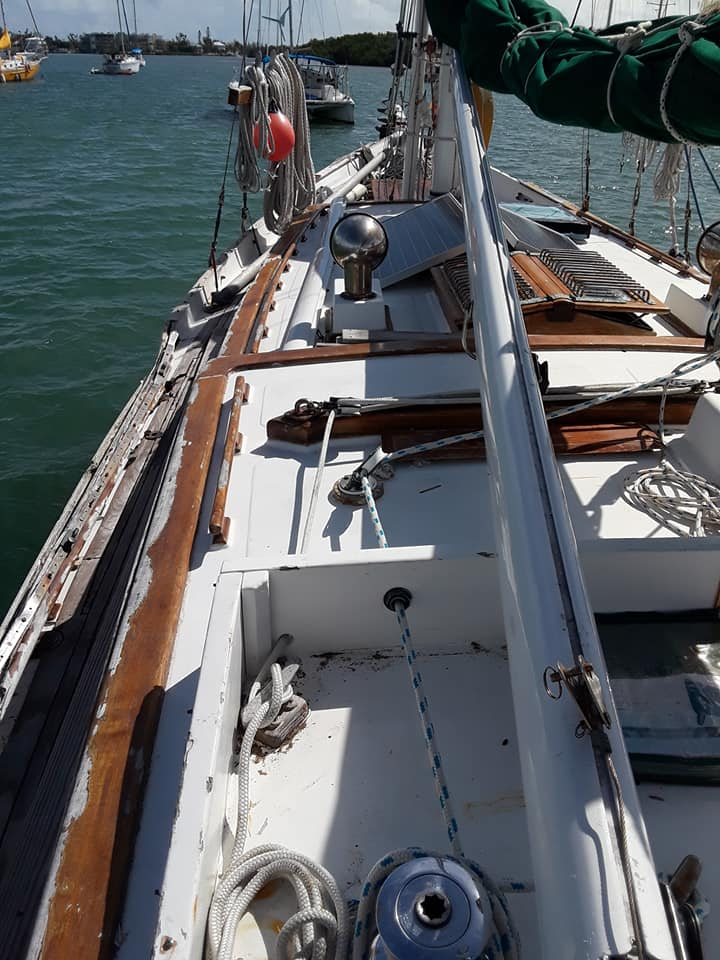 41 island trader on deck