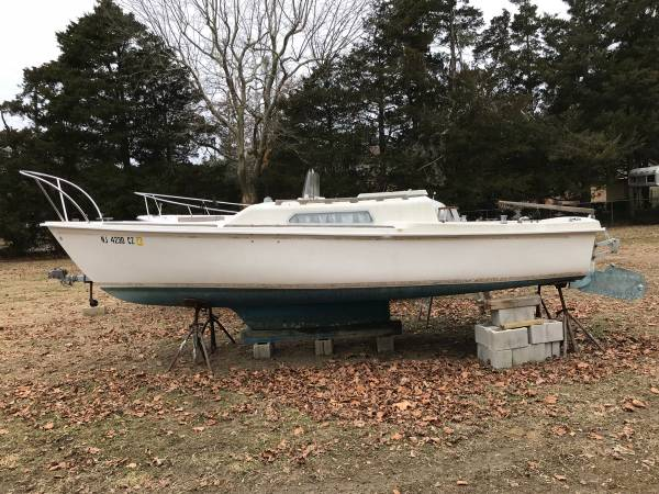 1973 Kells 22ft Sailboat side