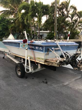 Chaparral 187 XL needs work