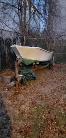 John Boat left