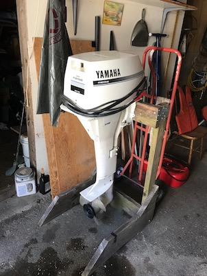 25' dutch wooden sloop outboard added