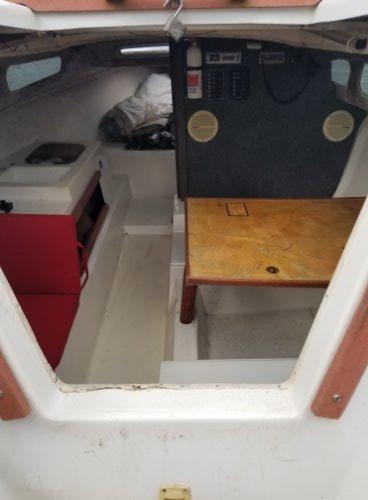 Macgregor Venture 25. Built in 1977 Cabin