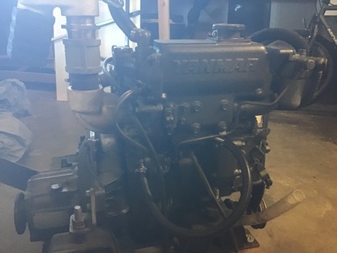 32 ft Erickson 1977 Replacement engine