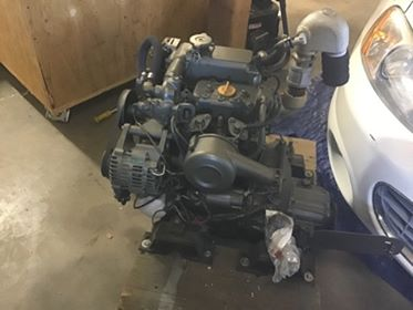 32 ft Erickson 1977 Engine ready to install