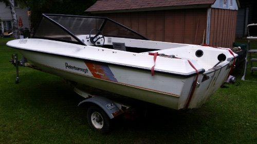 15 powerboat runabout