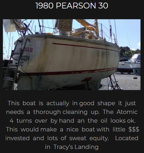1980 Pearson 30