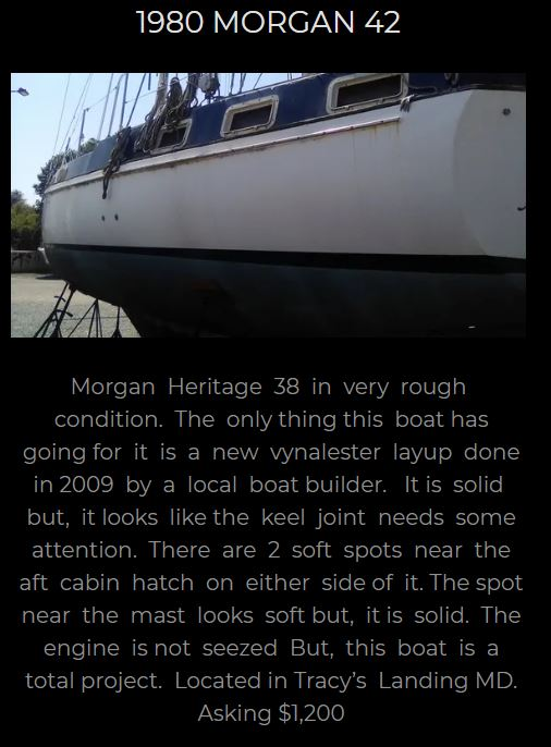 1980 Morgan 42