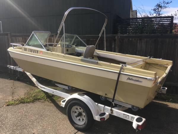 14 foot sherwood powerboat