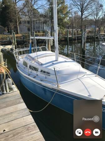 28 ft Catalina Sailboat