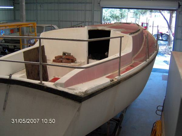 1974 Yorktown 39' on Deck