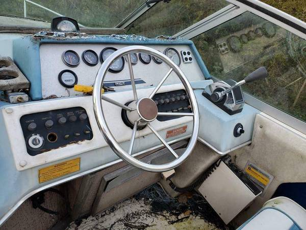 SeaRay cockpit area