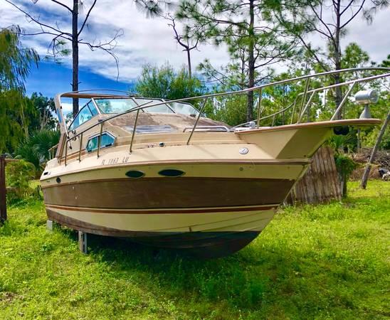 25 foot cabin cruiser