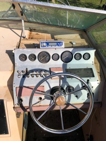 25 foot cabin cruiser cockpit hardware