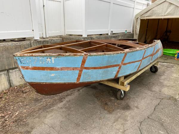 wood project boat