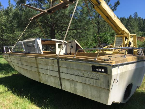 20 ft trihull project boat
