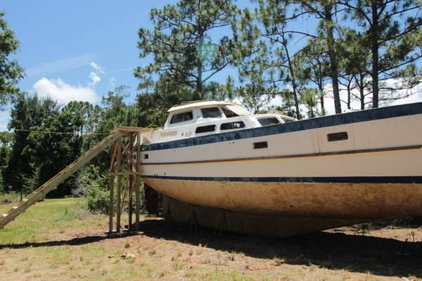 '81 Cheoy Lee Pilothouse MS sailboat