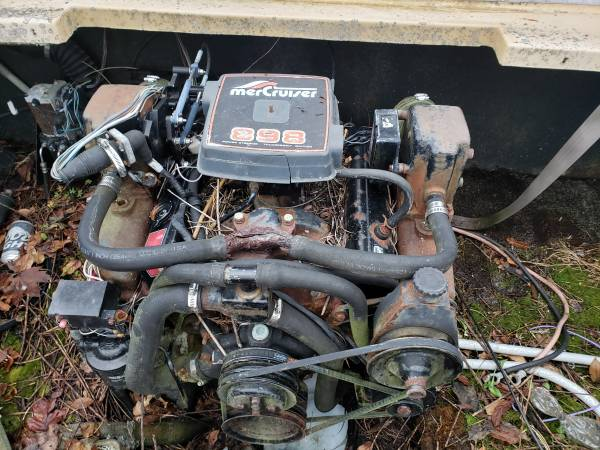 1984 Chris Craft Scorpion 186 engine