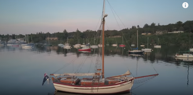 live aboard couple Restore wooden Sailboat to SAIL AROUND